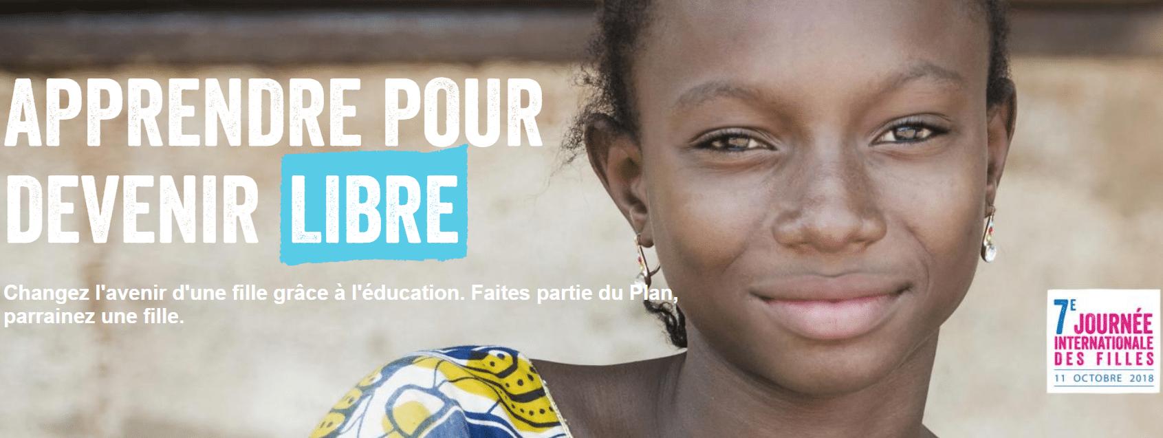 Journée Internationale des Filles & Plan International France